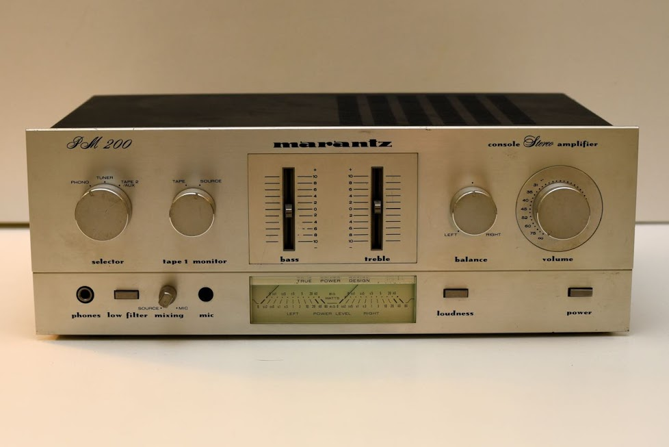 Marantz PM 200 Amplifier - Vintage Audio